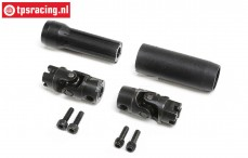 LOS242046 Center Slider driveshaft LMT Truck, Set.