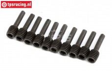 LOS242029 Wheel Hex screw pin LMT Truck, 10 pcs.