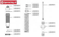 LOS243015 Shock Rebuild/Hardware LMT Truck, Set.
