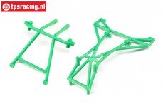 LOS242041 Top and Upper Cage Bars Green LMT Truck, Set