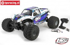 LOS05009T2 LOSI 1/5 MONSTER TRUCK XL 4WD RTR White