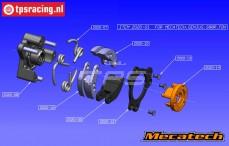 Construction drawing Mecatech 2020/01 clutch