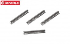 M3000/17 Mecatech Brake Lining pin, (Ø3-L14 mm), 4 pcs.