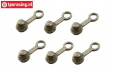 M3000/37 Mecatech rubber valve cover, 6 pcs.
