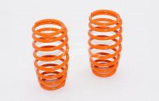 Schokdemper veer, (Ø17-Ø21), (Ø2,6-L56 mm), (Oranje), 2 st.