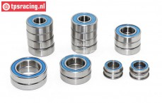 Ball bearing, Mecatech FW01, 19 pcs.