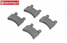 Mecatech Expert Brake Lining, 4 pcs.
