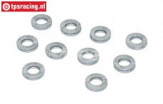 TPS1470/05 Nord Lock lock nut, Ø5-H2 mm, 10 pcs.
