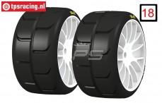 PMTK03 PMT Supreme-K Tyres Medium, 2 st.