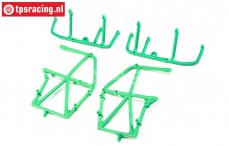 LOS241039 Side Cage and Lower Bar green LMT Truck, Set
