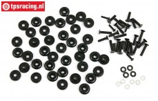 BWS59082/02 Body rings/screws BWS-LOSI, Set