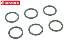 Samba 2270 O-ring, (Ø20-D2,5 mm), 6 pcs