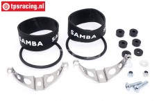 SAM7110 Samba Exhaust mounting kit Ø50 mm, Set