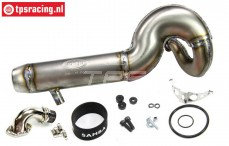 SAM8300 Samba 8 Titanium Tuned pipe, Set