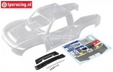 LOS250046 Clear Body and Front Grill SBR 2.0, Set