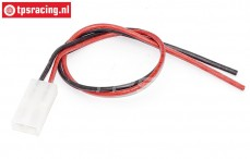 TPS0521/01 Silicone battery cable Gold, (Ø2,5 mm-L30 cm), 1 pc.