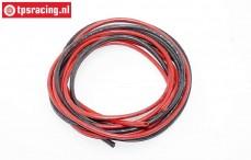 TPS0025 Silicone wire Ø2,5 mm-L100 cm, set