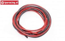 TPS0040 Silicone Wire Ø4,0 mm-L100 cm, Set