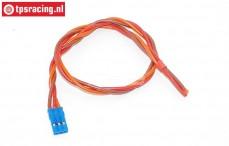 TPS0552/30 Silicone servo kabel Gold, (Ø0,6 mm-L30 cm), 1 st.