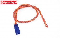 TPS0553/30 Silicone Servo/battery extension cable UNI plug, (Ø0,6 mm-L30 cm), 1 pc.