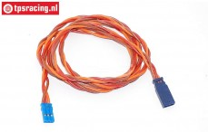 TPS0550/100 Silicone Servo/battery extension cable Gold, (Ø0,6 mm-L100 cm), 1 pc