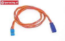 TPS0550/50 Silicone Servo/battery extension cable, (Ø0,6 mm-L50 cm), 1 pc
