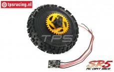 SK700002/10 SkyRC SR5 Rear wheel complete, set