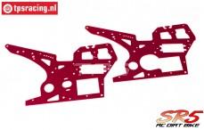 SK700002/13 SkyRC SR5 Side Panels Red, Set