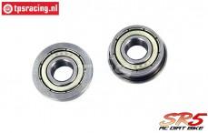 SK700002/16 SkyRC SR5 Ball bearing with flange, 2 pcs