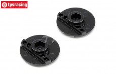 SPM9055 Spektrum Wheel Cam DX6R, 2 pcs.