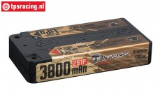 S638066 SUNPADOW 2S Li-Po Hardcase 3800 mAh-130C, 1 pc.