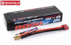 T1366002C 2S Li-Po Powerhouse 6600 mAh 100C, 1 pc.