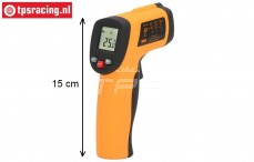 TPS0761 Thermometer Infrarood Laser Point Gun, 1 pc.