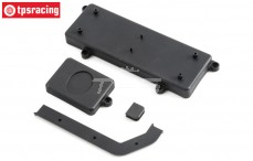 Radio Tray Covers, (LOSI 5IVE-B 4WD), (Plastic), Set