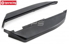 Chassis Side guards, (LOSI 5IVE-B 4WD), (ABS), Set