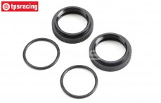 TLR253000 Shock adjustment ring, 5B-5T-MINI, Set