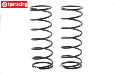 TLR253006 Shock spring front Ø33 mm 10.1 lb, Set