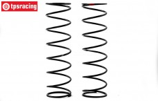 TLR253007 Shock spring rear 6.1 lb, 2 pcs.