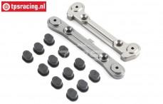 TLR254001 Hinge pin Brace rear 5B-5T-MINI, Set