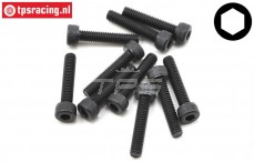 TLR255011 Socket Head Screw M4-L20 mm, 10 pcs