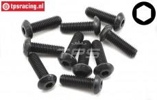 TLR255018 Button Head Screw M5-L16 mm, 10 pcs