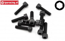 TLR255024 Socket Head Screw M5-L20 mm, 10 pcs
