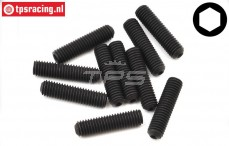 TLR255033 Scrub screw M5-L20 mm, 10 pcs.