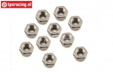 TLR256005 Lock nut M4, 10 pcs.