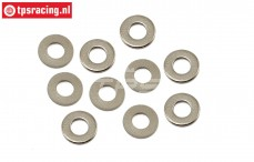 LOS252131 Steel washer Ø4 mm, 10 pcs.