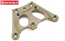 Top chassis/servo saver brace, (5B, 5T, MINI WRC) (aluminium), 1 pc.