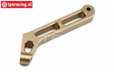 TLR351005 Aluminium Chassis brace rear TLR 5B, 1 pc.