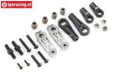 TLR351007 Dual Steering Linkage Kit, Set