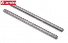 TLR354000 Tuning Hinge pin BWS-LOSI-TLR, 2 pcs.