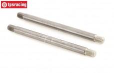 TLR354001 Tuning hinge pin LOSI 5T-BWS, 2 pcs.